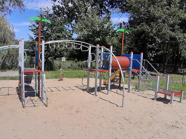 Placu zabaw przy ul. Chorzowskiej 47
